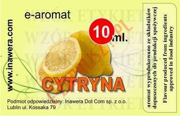 CYTRYNA E-Aromat 10ml (koncentrat)