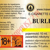 BURLEY  6mg/ml poj. 10ml INAWERA LIQUID