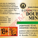 DOUBLE MINT 18mg/ml poj. 10ml INAWERA LIQUID