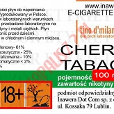 CHERRY TABAC 18mg/ml poj. 100ml LIQUID INAWERA