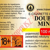 DOUBLE MINT  6mg/ml poj. 100ml INAWERA LIQUID