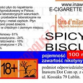 SPICY BISCUIT 24mg/ml poj. 100ml LIQUID INAWERA