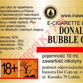 DONALD BUBBLE GUM 12mg/ml poj. 10ml INAWERA LIQUID