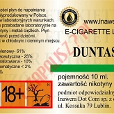 DUNTAST 18mg/ml poj. 10ml INAWERA LIQUID
