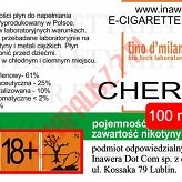 CHERRY 18mg/ml poj. 100ml LIQUID INAWERA