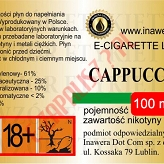 CAPPUCCINO 18mg/ml poj. 100ml INAWERA LIQUID