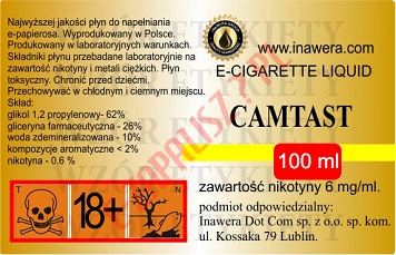 CAMTAST  6mg/ml poj. 100ml LIQUID INAWERA