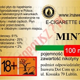 MINT 18mg/ml poj. 100ml INAWERA LIQUID
