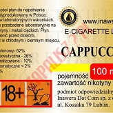 CAPPUCCINO  6mg/ml poj. 100ml INAWERA LIQUID