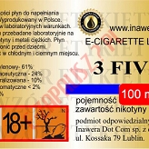 3 FIVE 24mg/ml poj. 100ml INAWERA LIQUID