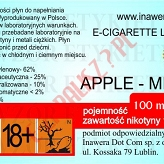 APPLE-MINT 12mg/ml poj. 100ml DUETY INAWERA LIQUID