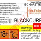 BLACKCURRANT  6mg/ml poj. 100ml LIQUID INAWERA