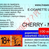 CHERRY-MINT 24mg/ml poj. 100ml DUETY INAWERA LIQUID