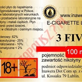 3 FIVE 12mg/ml poj. 100ml INAWERA LIQUID