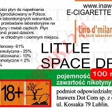 LITTLE SPACE DROP 18mg/ml poj. 100ml LIQUID INAWERA