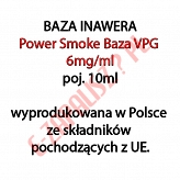 5 x POWER SMOKE BAZA 6mg/ml 10ml, komplet 5 sztuk (50ml)