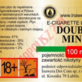 DOUBLE MINT 18mg/ml poj. 100ml INAWERA LIQUID