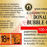 DONALD BUBBLE GUM 12mg/ml poj. 100ml INAWERA LIQUID