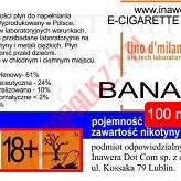 BANANA 24mg/ml poj. 100ml LIQUID INAWERA
