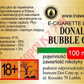 DONALD BUBBLE GUM 18mg/ml poj. 100ml INAWERA LIQUID