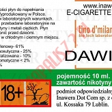 DAWID 18mg/ml poj. 10ml LIQUID INAWERA