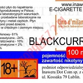 BLACKCURRANT 24mg/ml poj. 100ml LIQUID INAWERA