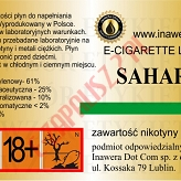 SAHARA 18mg/ml poj. 10ml INAWERA LIQUID
