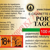 PORT TAGOS 18mg/ml poj. 100ml INAWERA LIQUID
