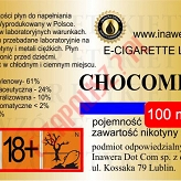 CHOCOMINT 24mg/ml poj. 100ml INAWERA LIQUID