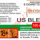 US BLEND 18mg/ml poj. 100ml LIQUID INAWERA