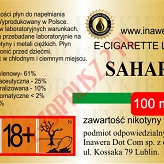 SAHARA 18mg/ml poj. 100ml INAWERA LIQUID
