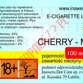 CHERRY-MINT  6mg/ml poj. 100ml DUETY INAWERA LIQUID