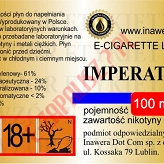 IMPERATOR 24mg/ml poj. 100ml INAWERA LIQUID
