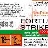 FORTUNA STRIKE 18mg/ml poj. 100ml LIQUID INAWERA