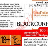 BLACKCURRANT 12mg/ml poj. 100ml LIQUID INAWERA