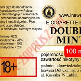 DOUBLE MINT  poj. 100ml INAWERA LIQUID bez nikotyny