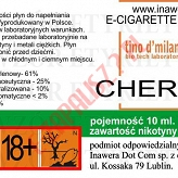 CHERRY 18mg/ml poj. 10ml LIQUID INAWERA