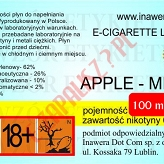 APPLE-MINT  6mg/ml poj. 100ml DUETY INAWERA LIQUID