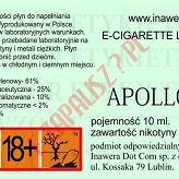 APOLLO 18mg/ml poj. 10ml BAYCA LIQUID