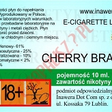 CHERRY-BRANDY 18mg/ml poj. 10ml DUETY INAWERA LIQUID
