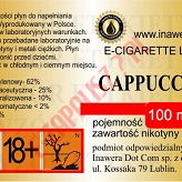 CAPPUCCINO 12mg/ml poj. 100ml INAWERA LIQUID