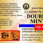 DOUBLE MINT 24mg/ml poj. 100ml INAWERA LIQUID