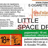 LITTLE SPACE DROP 18mg/ml poj. 10ml LIQUID INAWERA