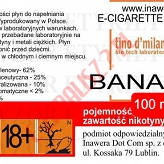 BANANA 12mg/ml poj. 100ml LIQUID INAWERA