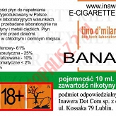 BANANA 18mg/ml poj. 10ml LIQUID INAWERA