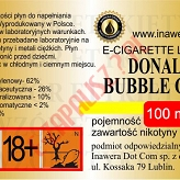DONALD BUBBLE GUM  6mg/ml poj. 100ml INAWERA LIQUID