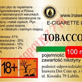 TOBACCO 18mg/ml poj. 100ml INAWERA LIQUID