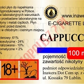 CAPPUCCINO 24mg/ml poj. 100ml INAWERA LIQUID