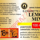 LEMON MIX  6mg/ml poj. 100ml INAWERA LIQUID