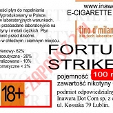 FORTUNA STRIKE poj. 100ml LIQUID INAWERA bez nikotyny